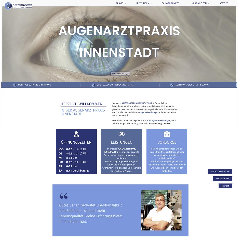 Augenarztpraxis-Referenzen